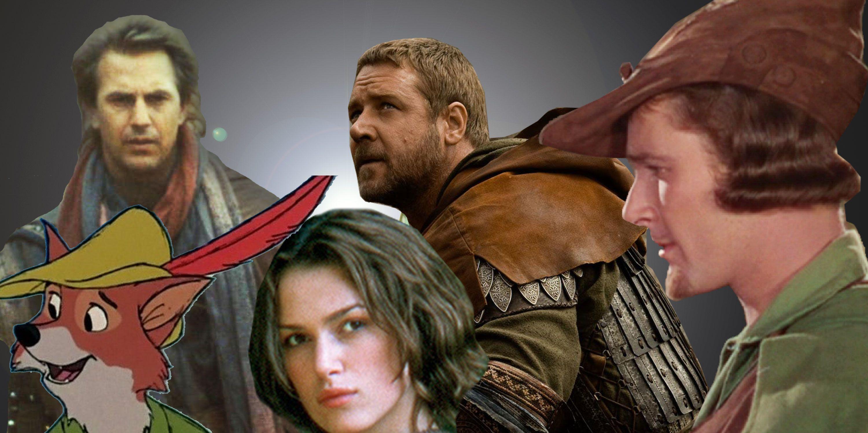 Kevin Costner, Keira Knightly, Russell Crowe, Errol Flynn
