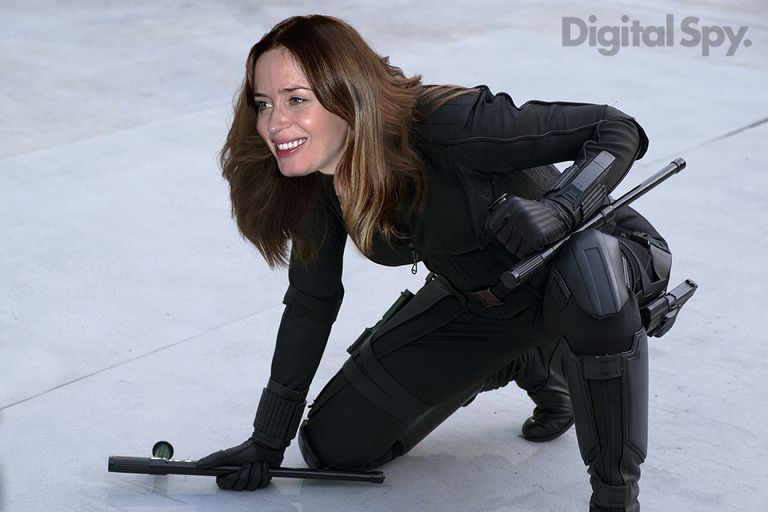 Black Widow Emily Blunt Vengadores