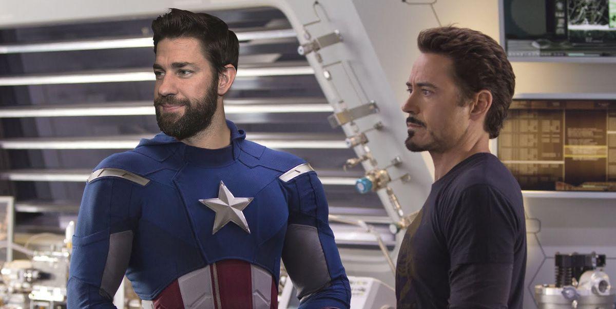 John Krasinski sí es Capitán América gracias a un deepfake