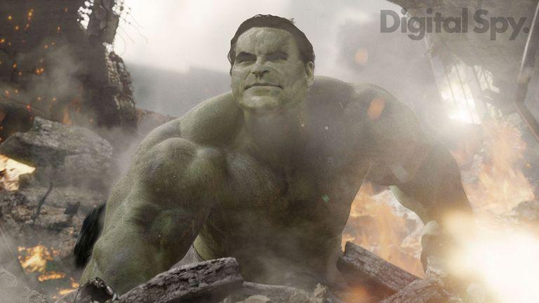 Hulk Joaquin Phoenix UCM Marvel