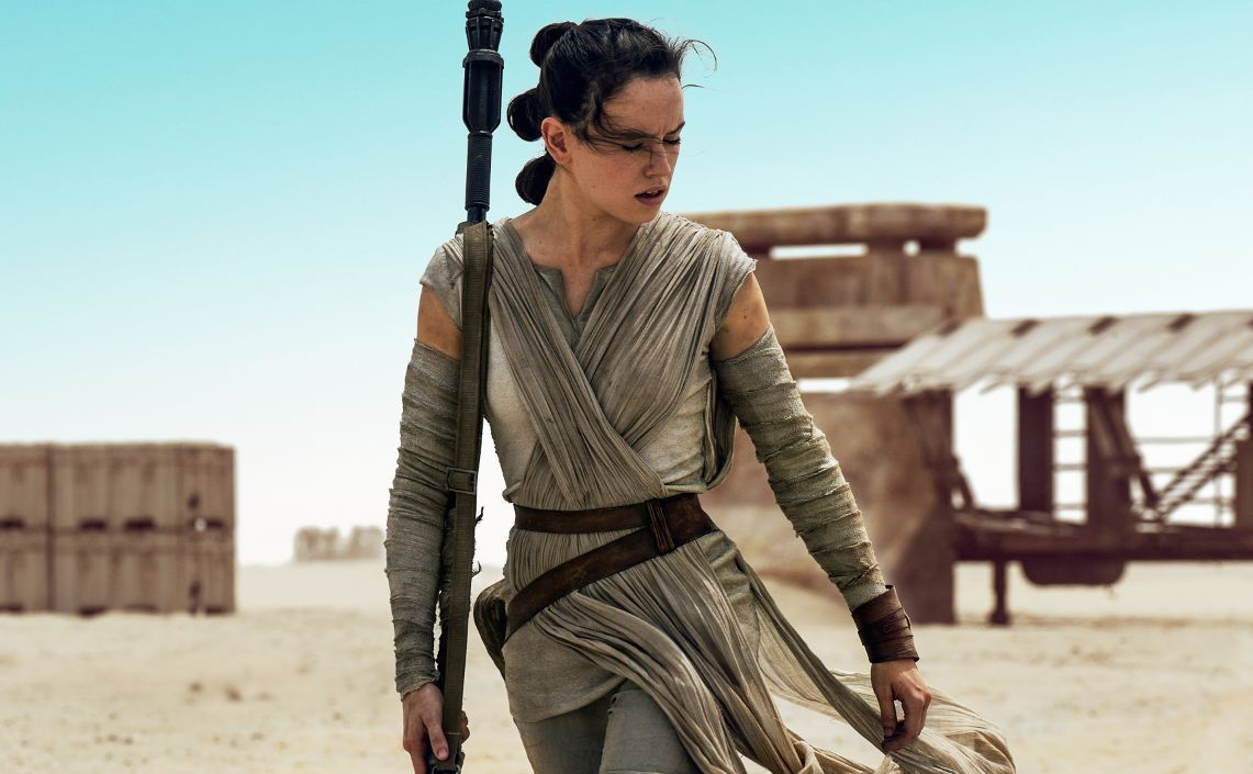 Rey In Star Wars The Force Awakens Daisy Ridley