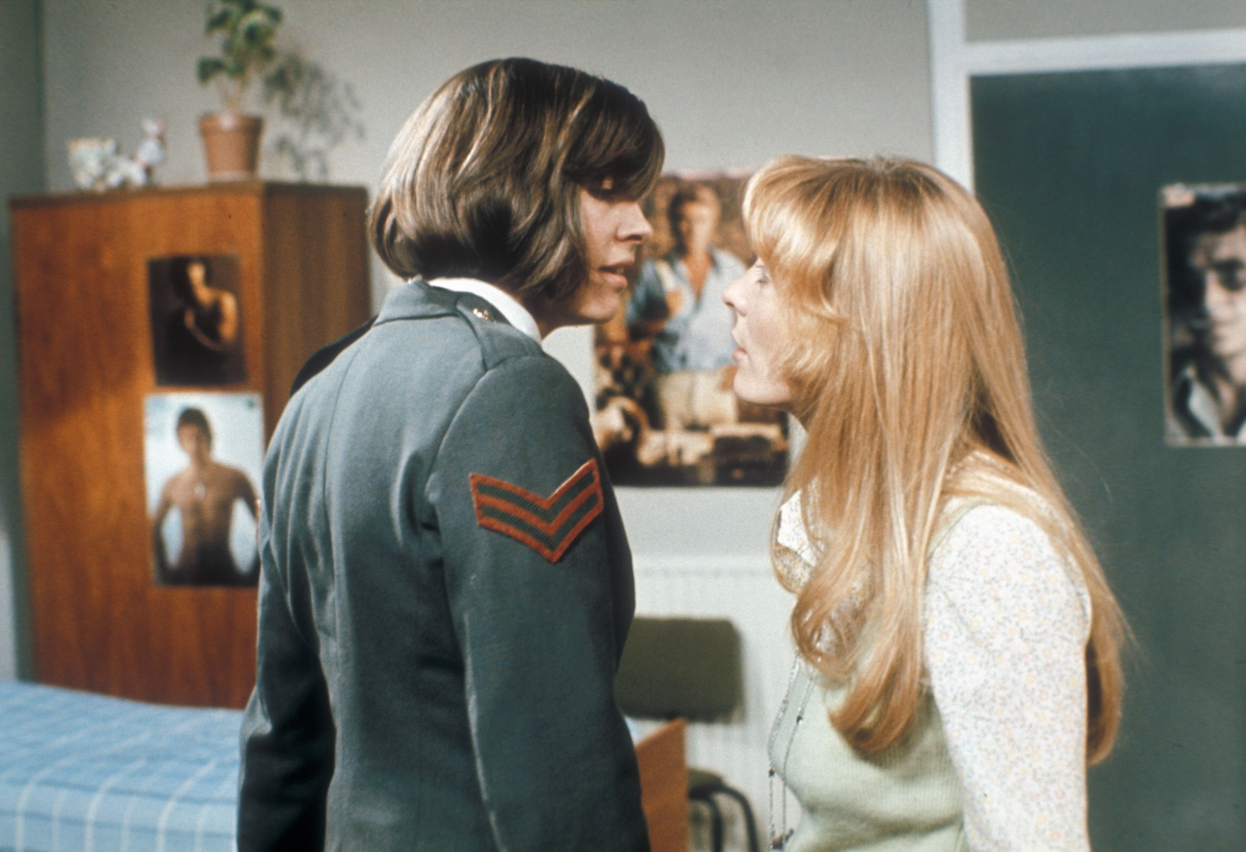 TV's first ever lesbian kiss is available to watch again for the first time  in 40 years