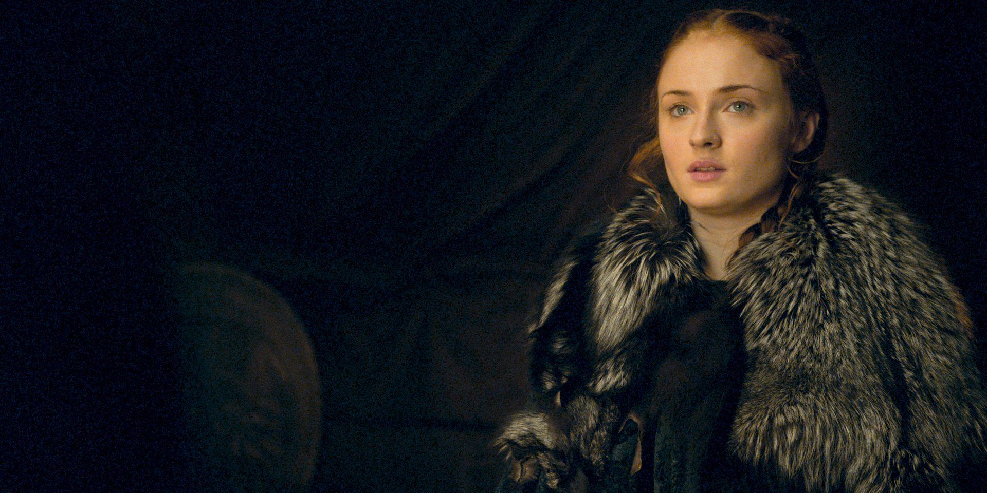 Sansa Stark in Game of Thrones s06e09, 'Battle of the Bastards'