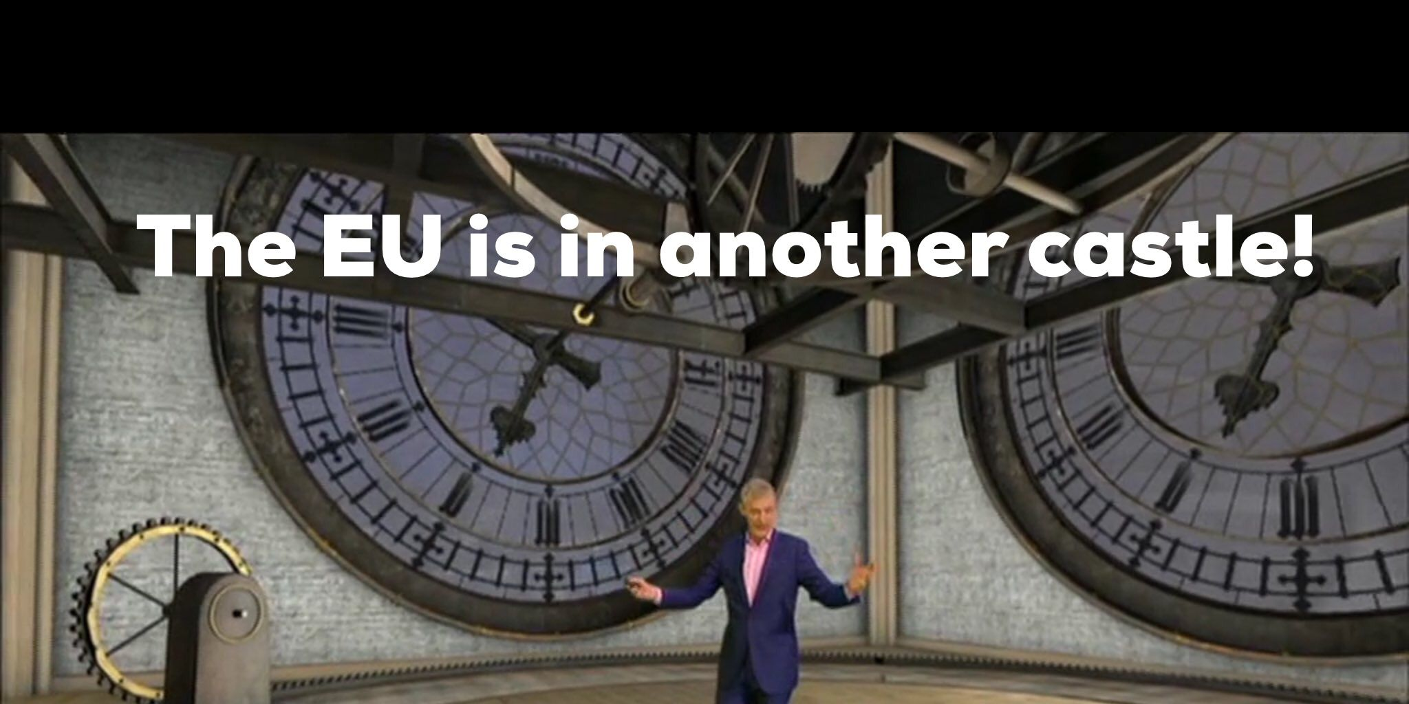 Jeremy Vine on BBC coverage of EU Referendum, Brexit, screen grab