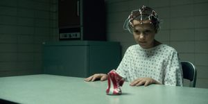 Millie Brown as Eleven in Netflix's Stranger Things