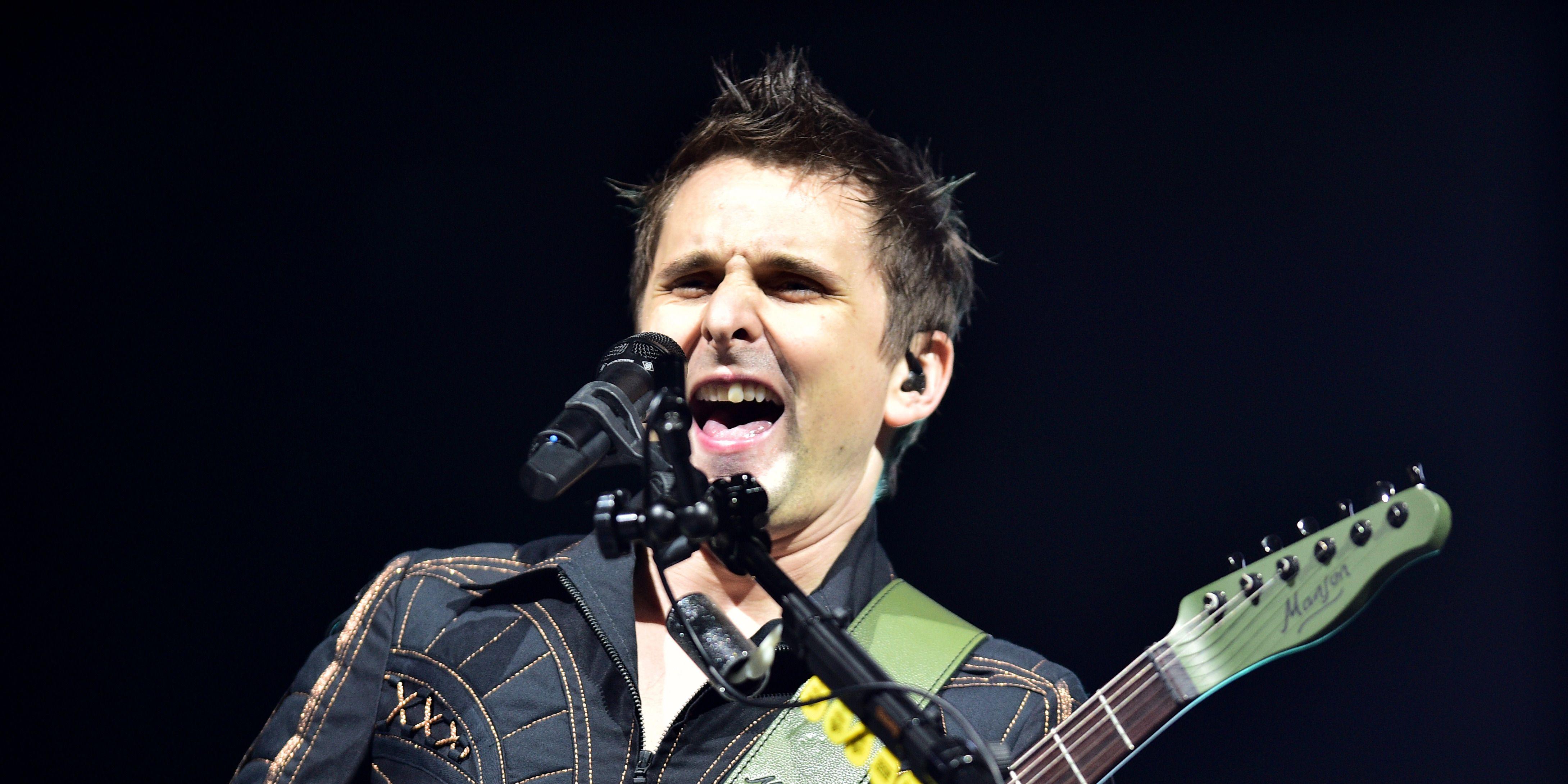 Muse at Glastonbury 2016