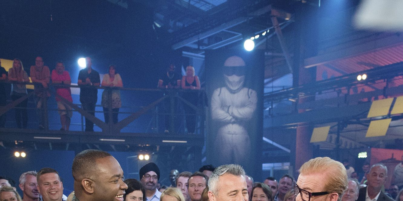 Rory Reid, Matt LeBlanc and Chris Evans on Top Gear
