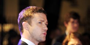 Justin Timberlake at In Time premiere