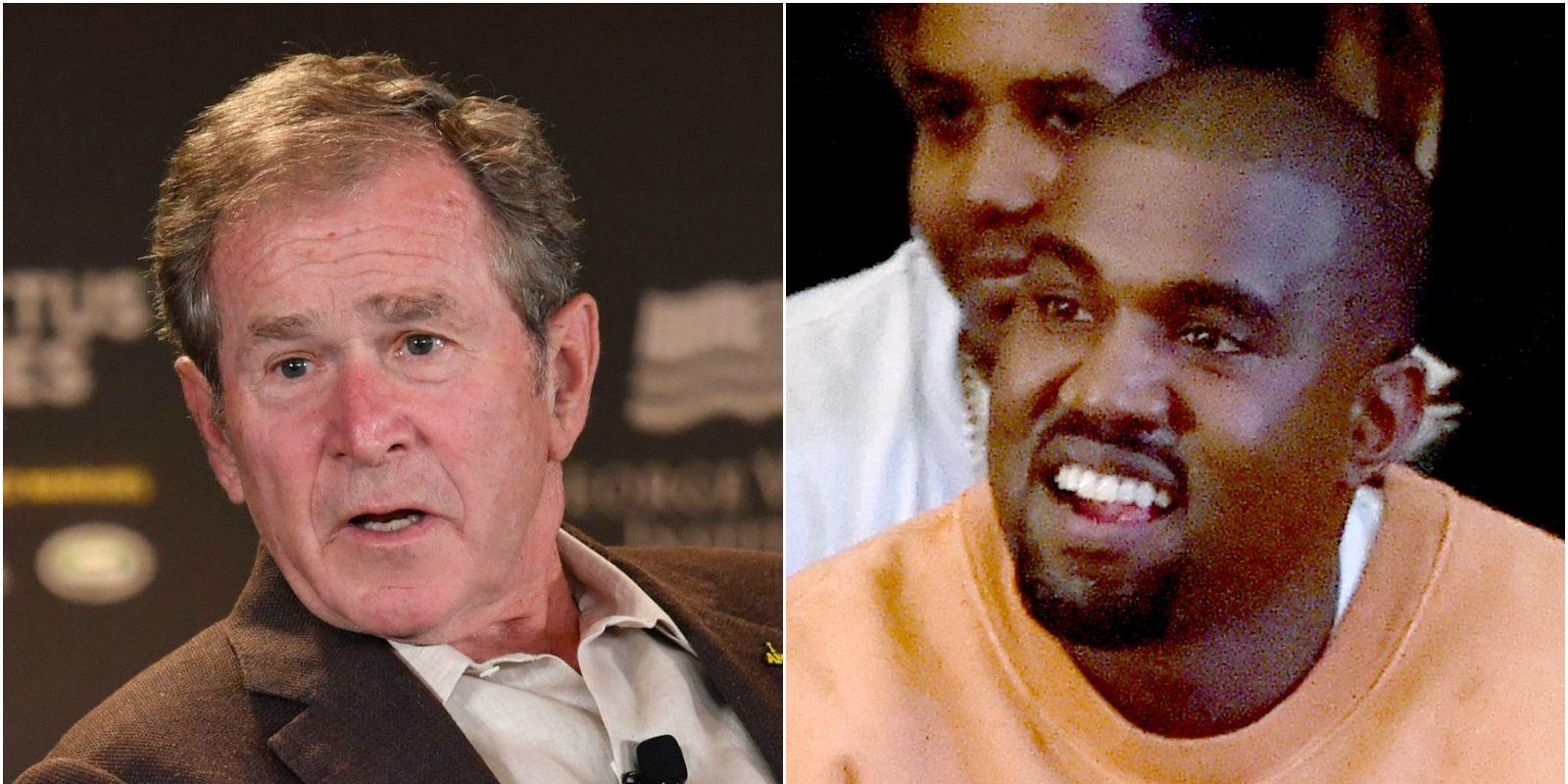 George W Bush, Kanye West