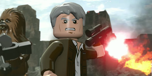 Han Solo in Lego Star Wars: The Force Awakens