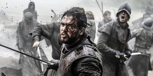 Jon Snow in Game of Thrones s06e09, 'Battle of the Bastards'