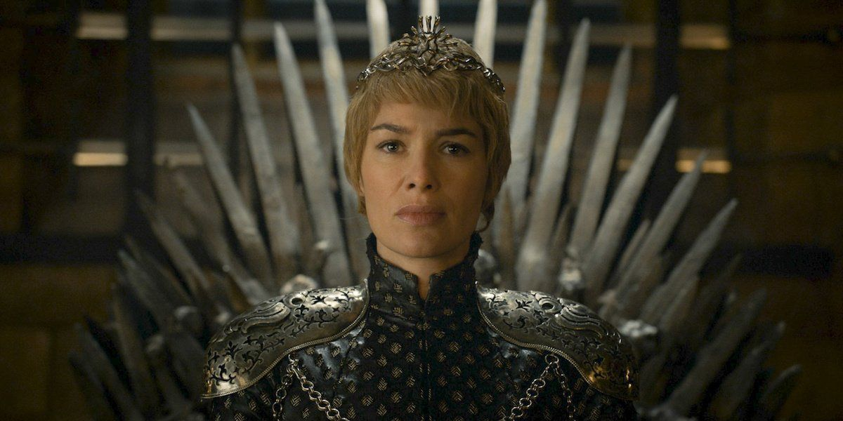 Cersei on the throne, Game of Thrones