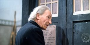 William Hartnell as the first Doctor in Doctor Who
