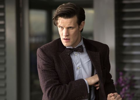 matt smith as the eleventh doctor in doctor who