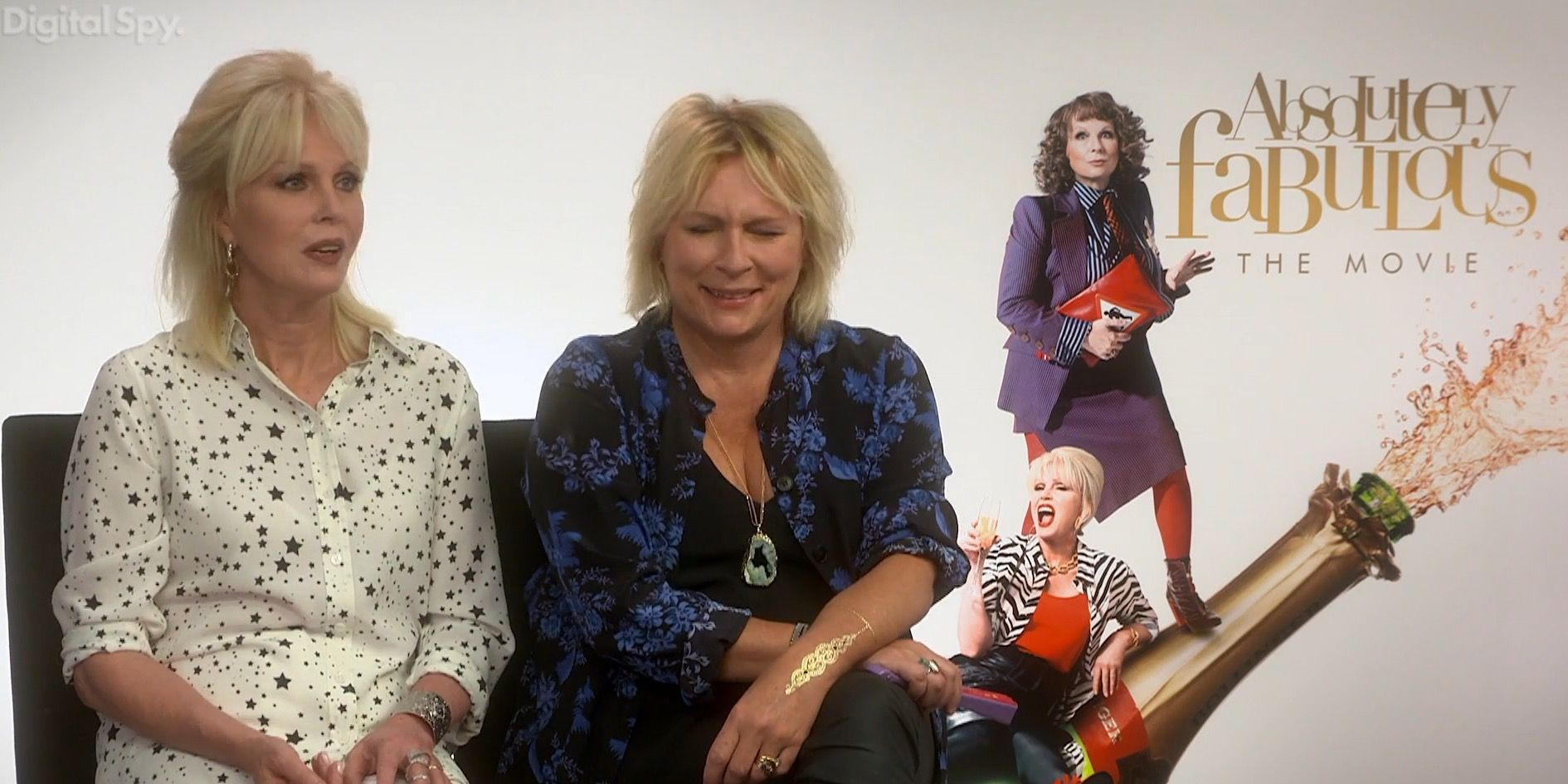 Jennifer Saunders and Joanna Lumley Absolutely Fabulous: The Movie