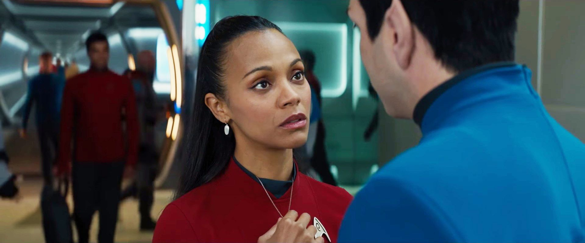 Star Trek Beyond Spock and Uhura call it quits in new clip