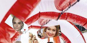 Cara Delevingne, Gigi Hadid, Taylor Swift, Tom Hiddleston go down the slide on 4th July