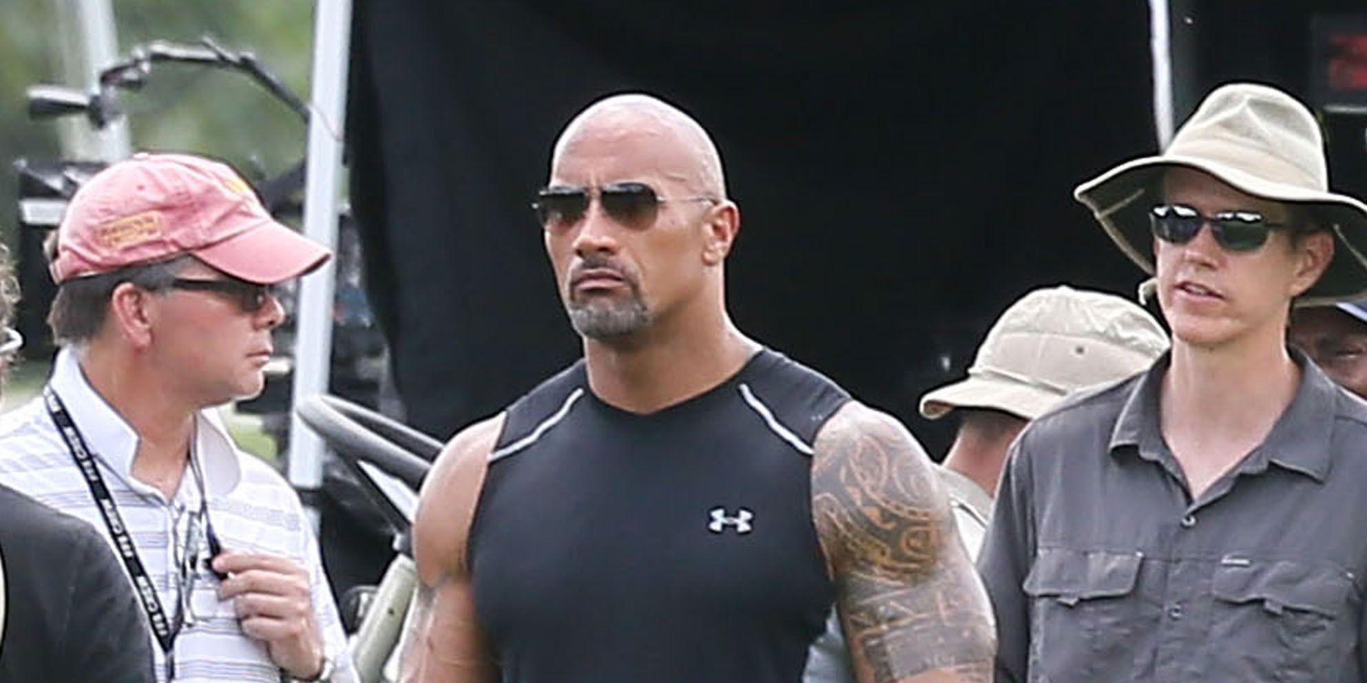 Dwayne Johnson, The Rock, Fast 8 filming