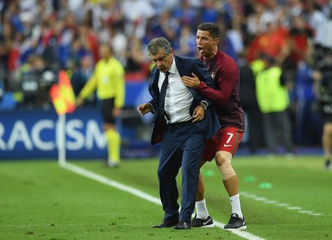b491eeb42 Ronaldo steals the show during the Euro 2016 final
