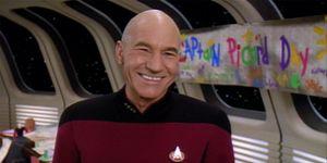 Patrick Stewart in Star Trek