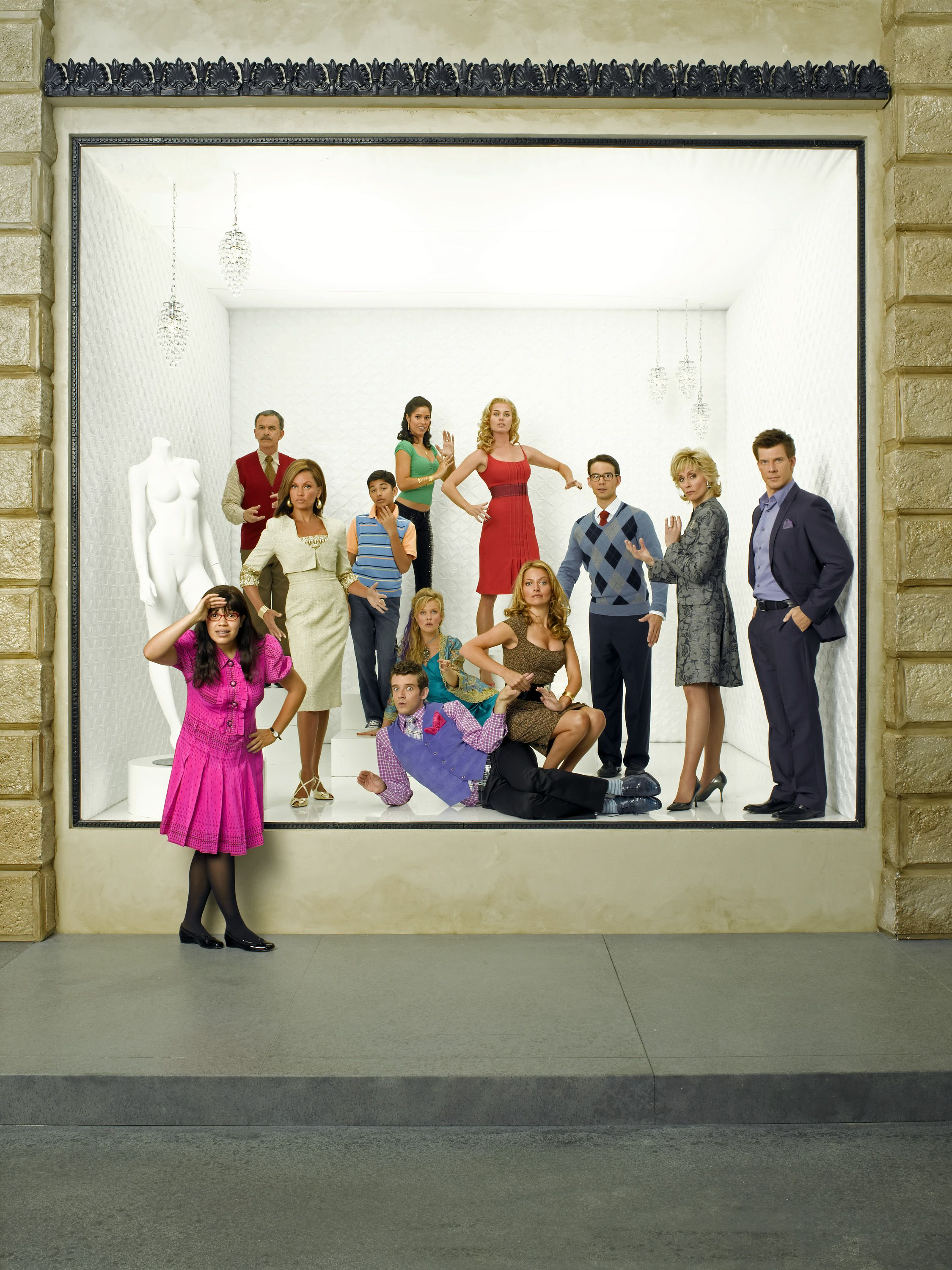 Mode magazine from ugly betty would be a mundane yet exciting fictional TV offices in the fashion industry.