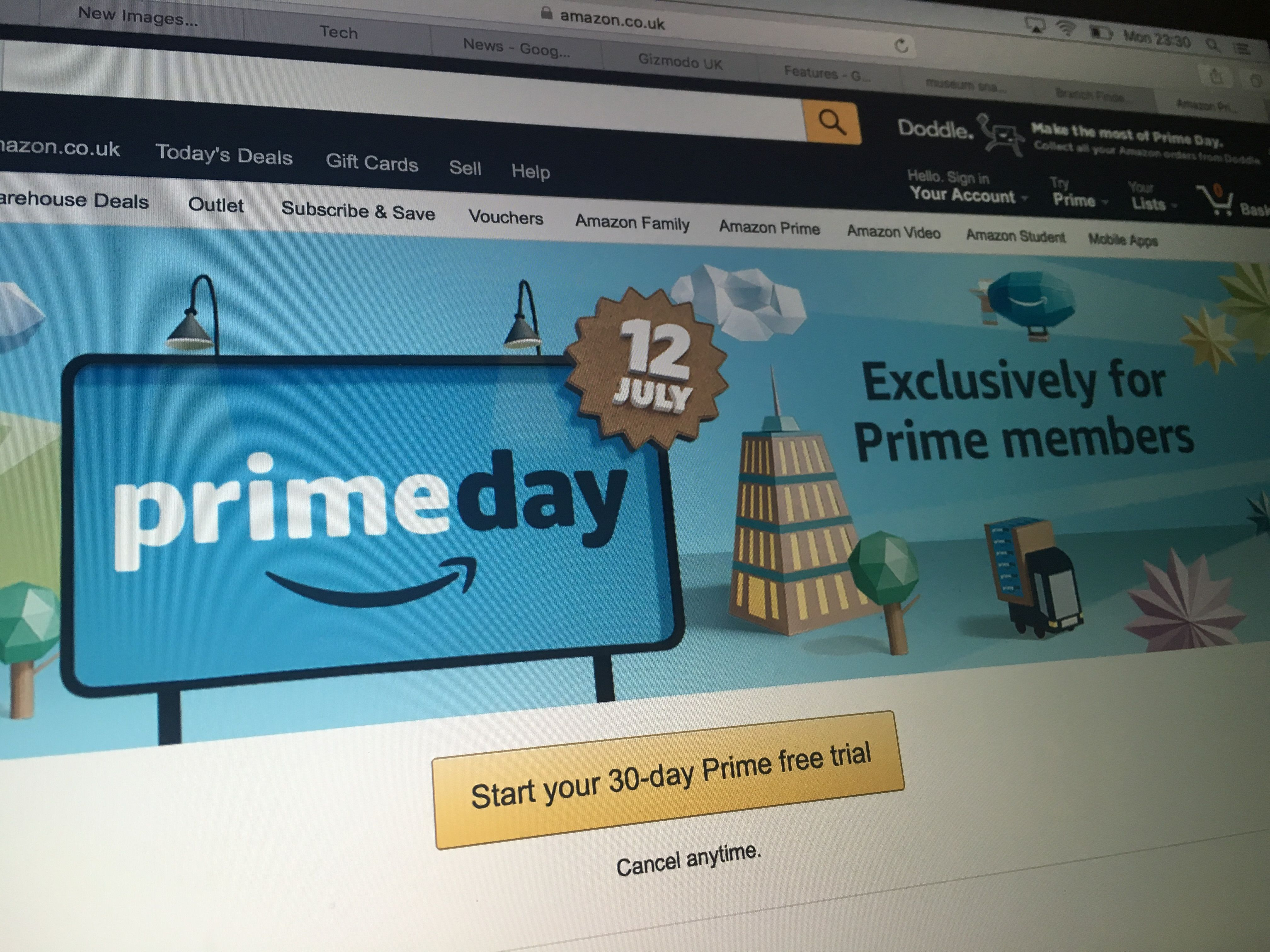 Best Amazon Prime Day Deals 2016: Your timeline for how to get the