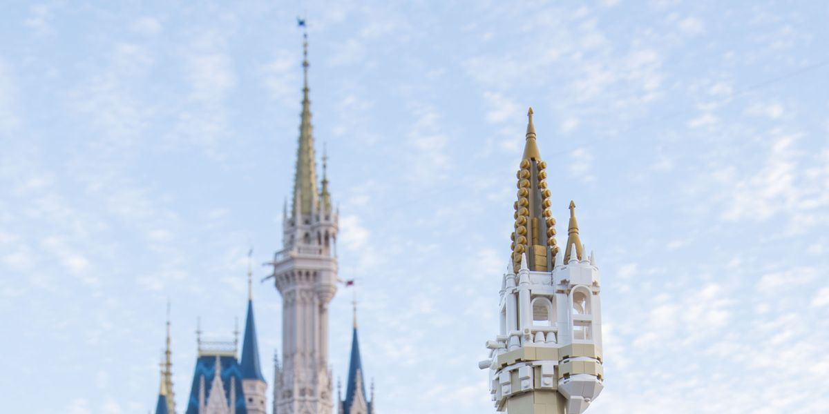 You Can Now Build Your Own Disney Castle With Lego And Itll Only