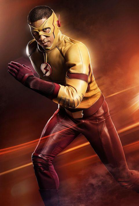 Keiynan Lonsdale as Kid Flash in The Flash season 3