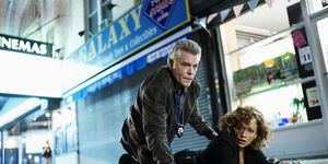 Ray Liotta and Jennifer Lopez in Sky Living's Shades of Blue