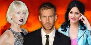 Taylor Swift, Calvin Harris, Katy Perry