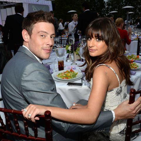 Glee star Lea Michele posts tribute to Cory Monteith's death