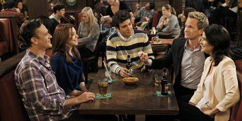 How I Met Your Mother-  Josh Radnor, Jason Segel, Cobie Smulders, Neil Patrick Harris, Alyson Hannigan