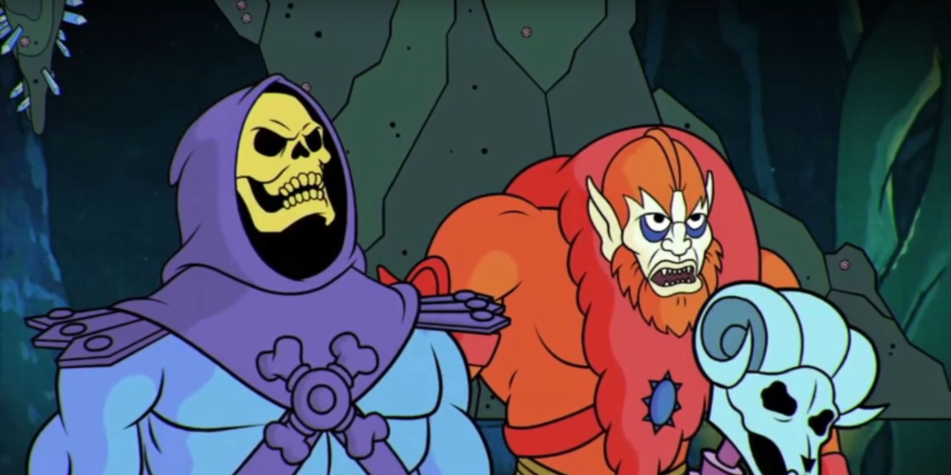 Skeletor in Masters of the Universe