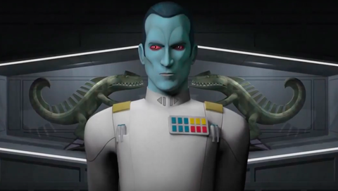 Star Wars Rebels Season Three Trailer Official ( Grand Admiral Thrawn)