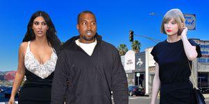 PHOTOSHOP Kim Kardashian, Kanye West, Taylor Swift, feud