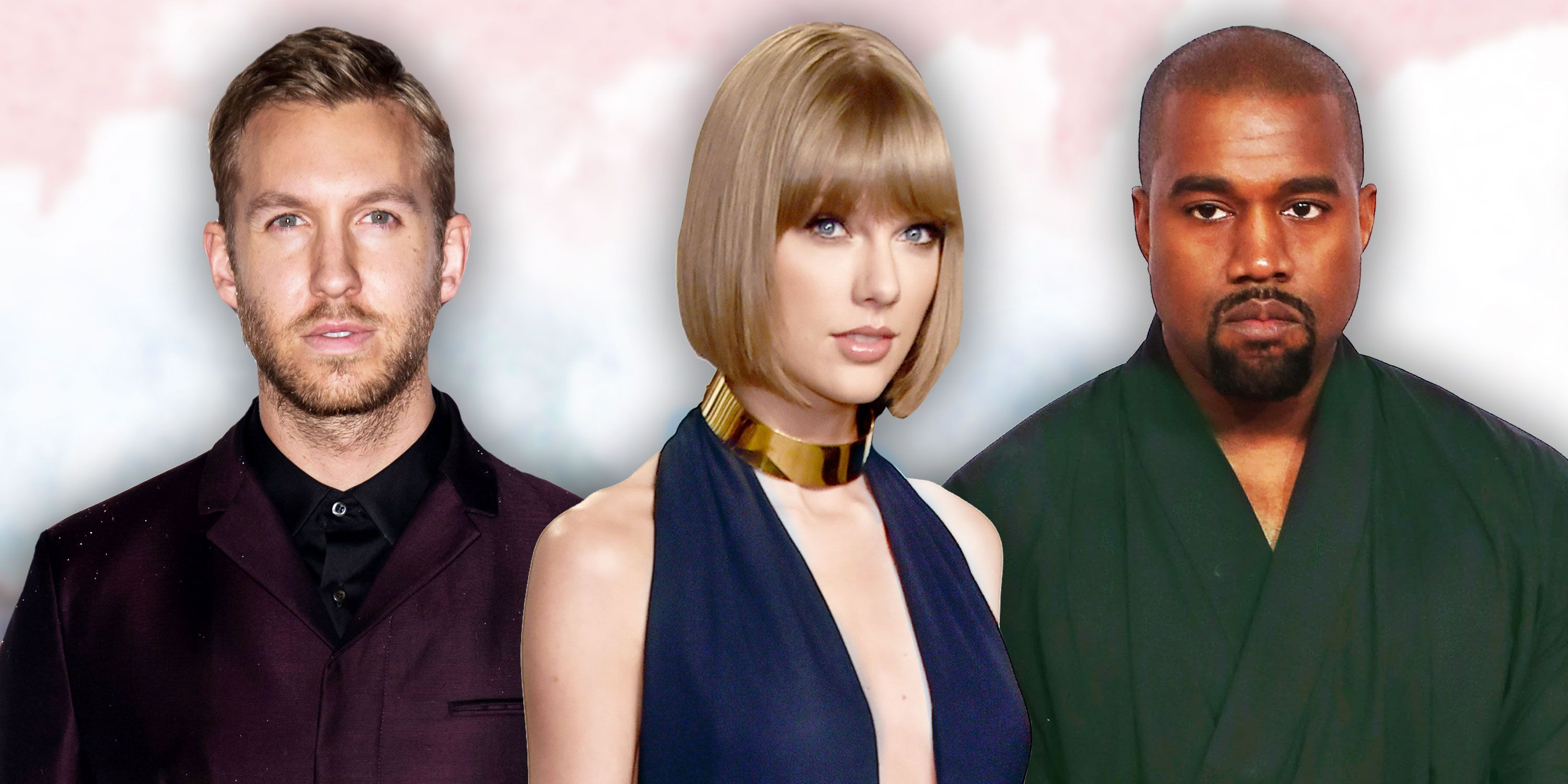 Calvin Harris, Taylor Swift, Kanye West