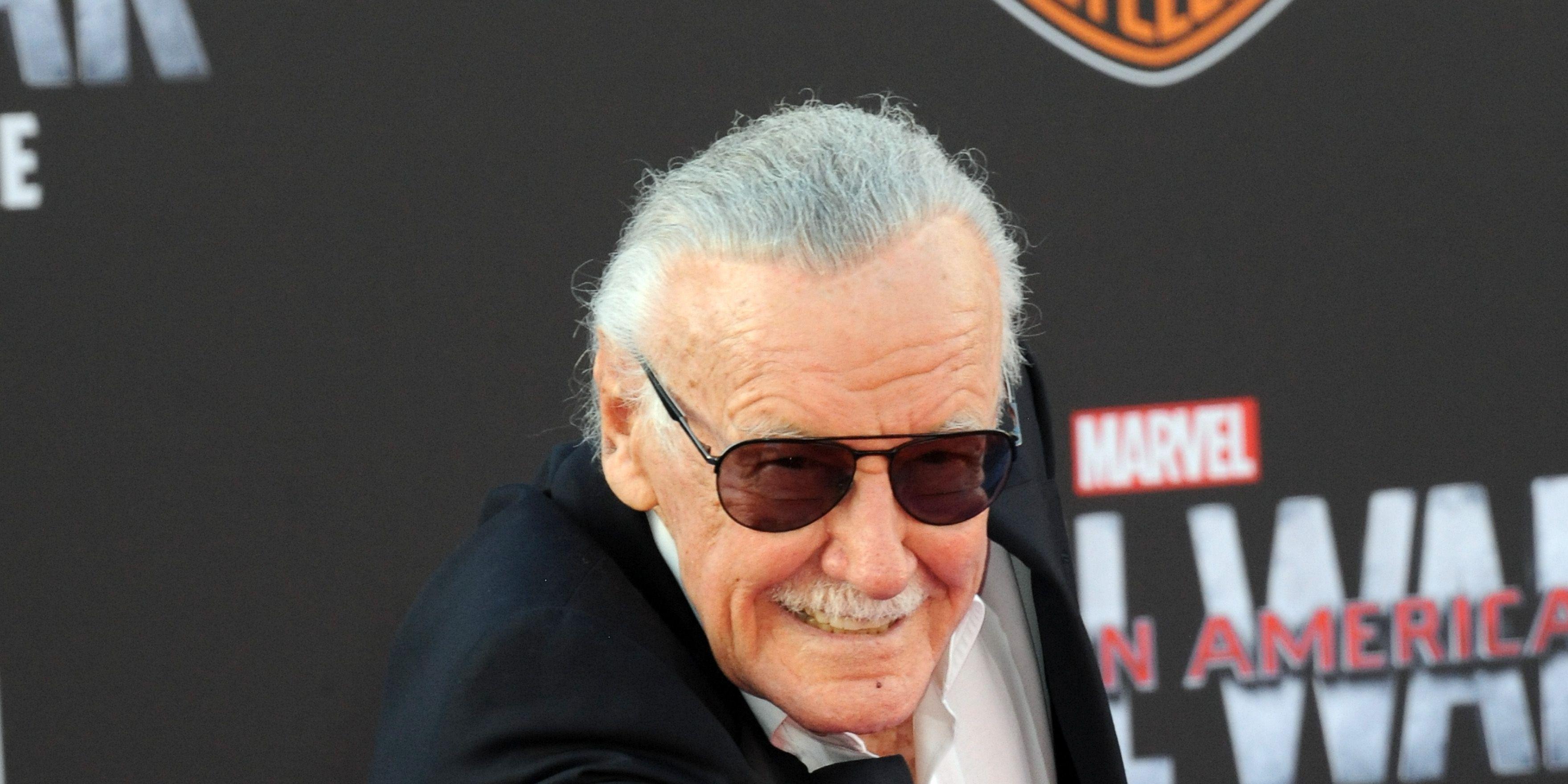 Stan Lee at Captain America premiere
