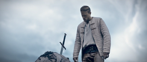 A still from the first trailer of Guy Ritchie's new take on the Arthurian legend.