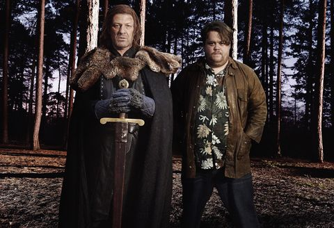 Sean Bean and Morpheus in E4's Wasted