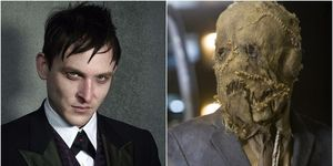 Gotham's Penguin and the Scarecrow in The Dark Knight