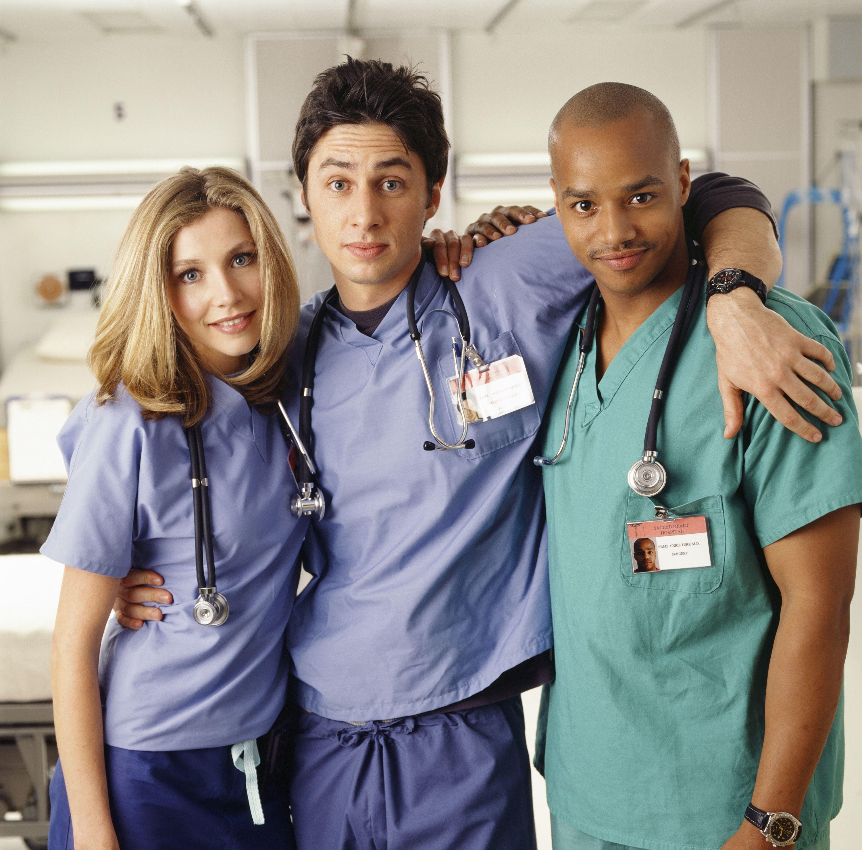 Scrubs cast reunite 8 years after final episode as creator