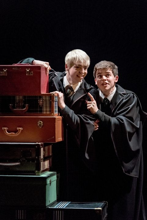 Harry Potter and the Cursed Child,  Albus Severus Potter, Sam Clemmett, Scorpius Malfoy