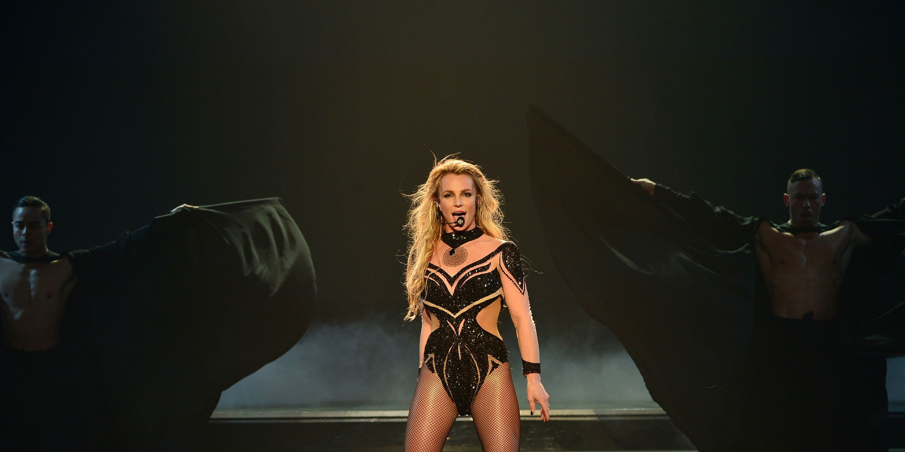 LAS VEGAS, NV - FEBRUARY 26: (EXCLUSIVE COVERAGE) Britney Spears performs Britney Spears: Piece of Me Remixed. Reimagined. Still iconic. At Planet Hollywood Resort & Casino on February 26, 2016 in Las Vegas, Nevada.
