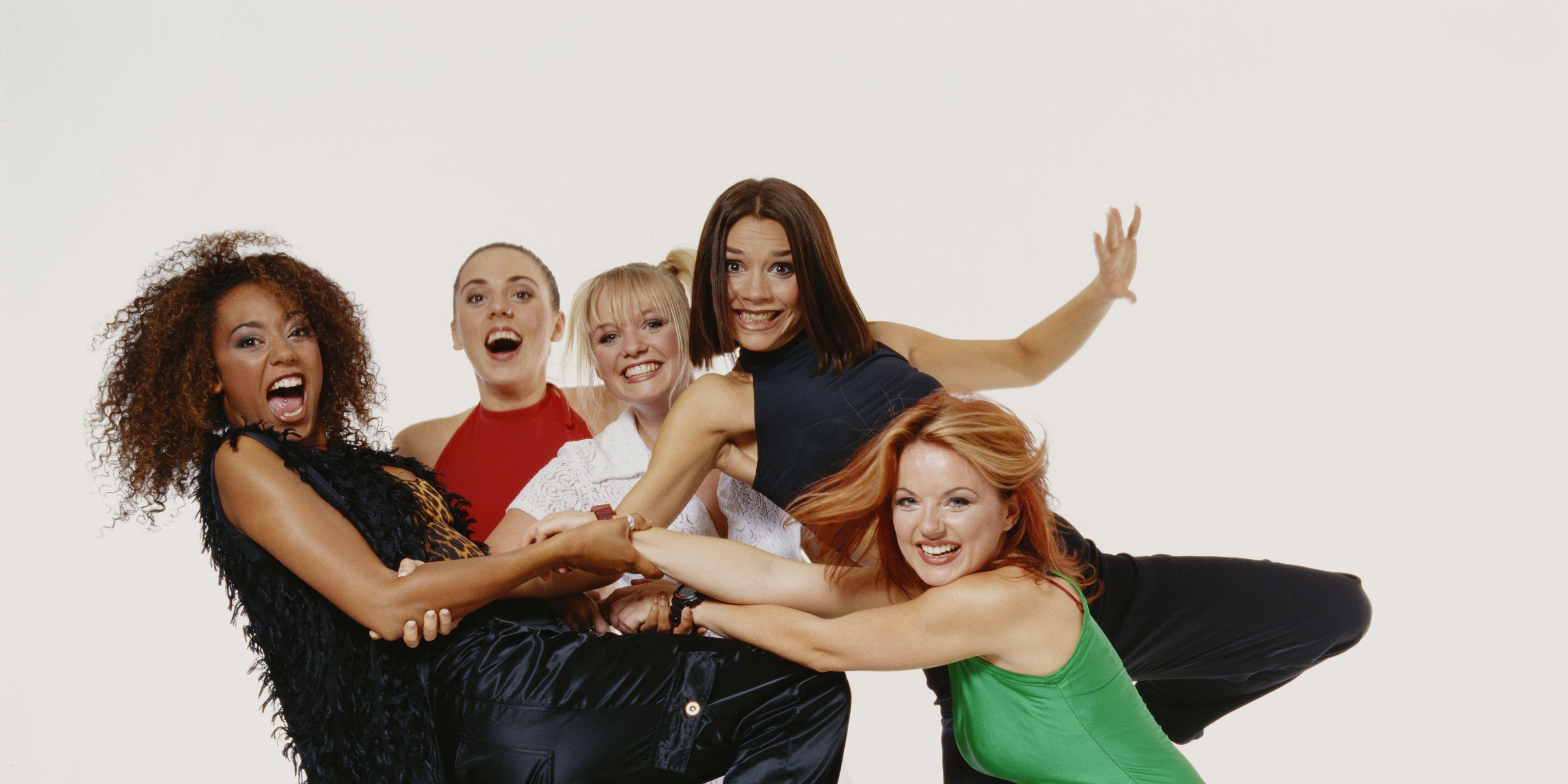 Mel B, Mel C,Geri Halliwell, Victoria Beckham, Emma Bunton, Spice Girls