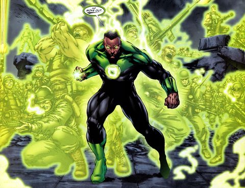 65ee5f97150c79 DC s Geoff Johns teases planned Green Lantern Corps movie