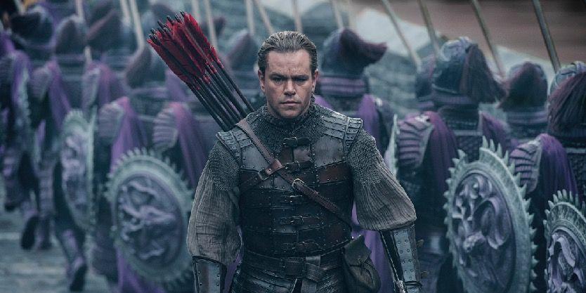 Matt Damon in The Great Wall trailer