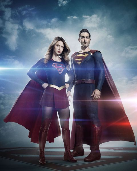 3e6dd0ffe474 Here s a first look at Tyler Hoechlin as Superman in The CW s Supergirl