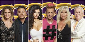 CBB summer 2016 contestants: Katie Waissel, Ricky Norwood, Chloe Khan, Frankie Grande, Samantha Fox and Christopher Biggins