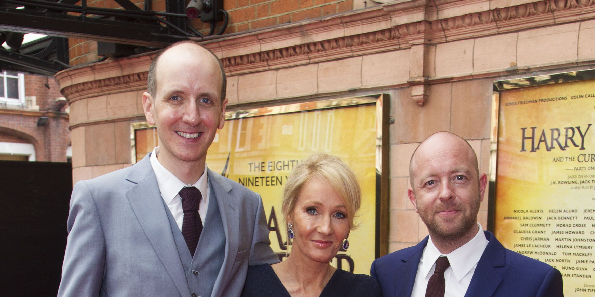 JK Rowling attends the opening gala for Harry Potter and the Cursed Child