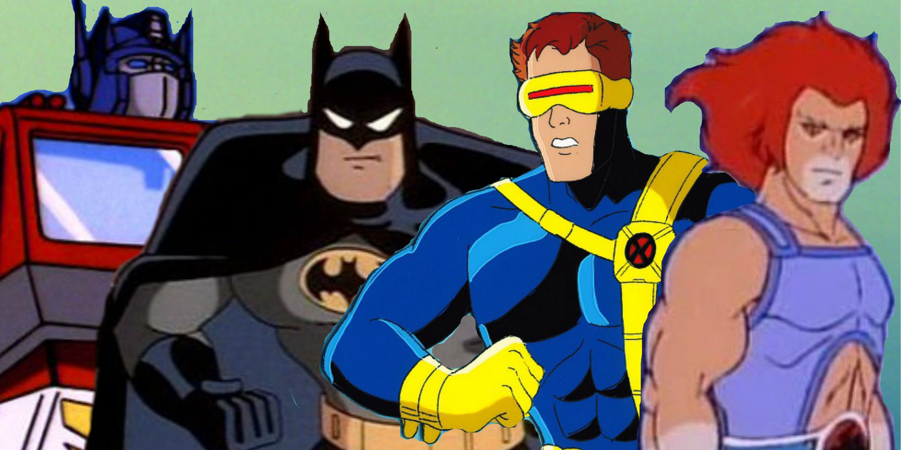 Transformers, Batman: The Animated Series, X-Men: The Series, Thunder-Cats